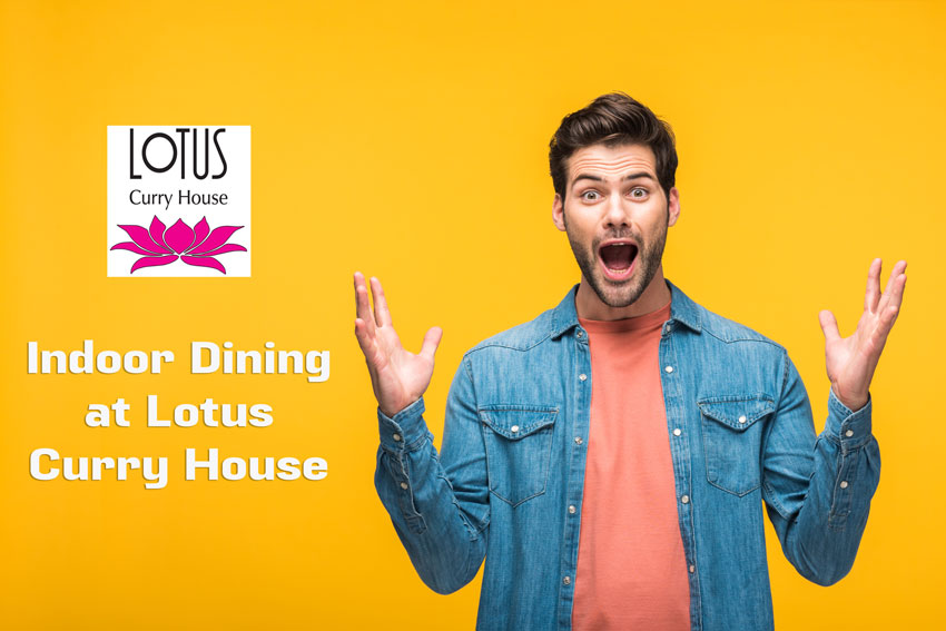 Lotus Curry House - Indoor Dining at Lotus Curry House