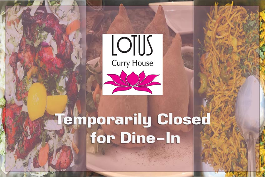 Dine-In temporarily closed Due to Covid