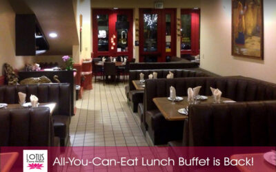 Curry House Lunch Buffet is Back!